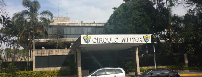 Círculo Militar de São Paulo is one of สถานที่ที่บันทึกไว้ของ Marisa.