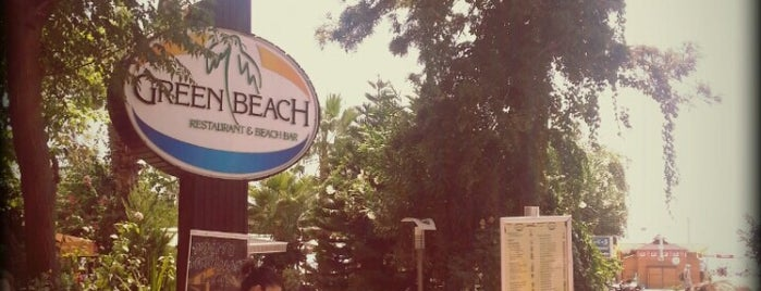 Green Beach Restaurant is one of Lugares favoritos de ⏩Buket.