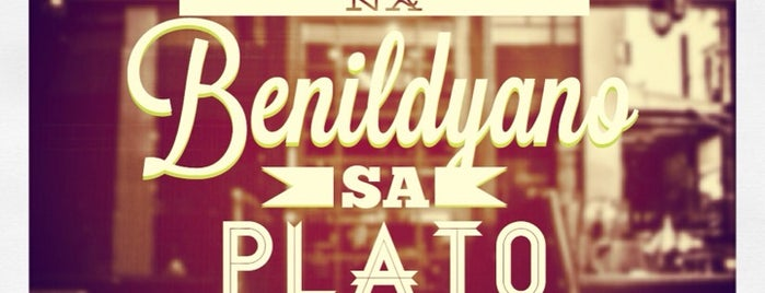 Plato Bar & Restaurant is one of Orte, die Cristina gefallen.
