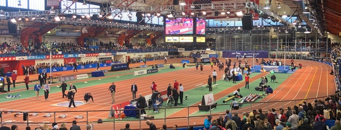 New Balance Track & Field Center at The Armory is one of New York 2.