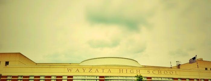 Wayzata Senior High School is one of Twin Cities High Schools.