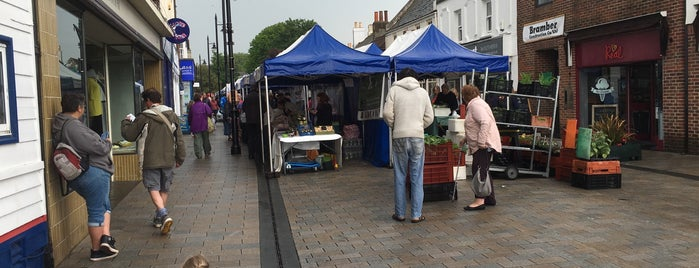 Shoreham Farmers Market is one of Brighton.