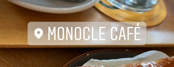 Monocle Café is one of To drink in CNW Europe.