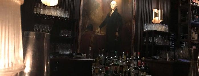 The George Washington Bar is one of Manhattan.