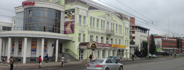 Остановка «Театральная площадь» is one of Orte, die Роман gefallen.