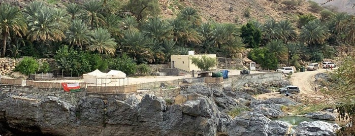 Wadi Al Arbeyeen is one of Oman🏜.