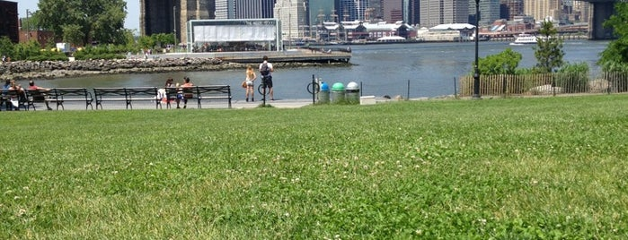 Empire Fulton Ferry Park is one of The Great Outdoors NY.