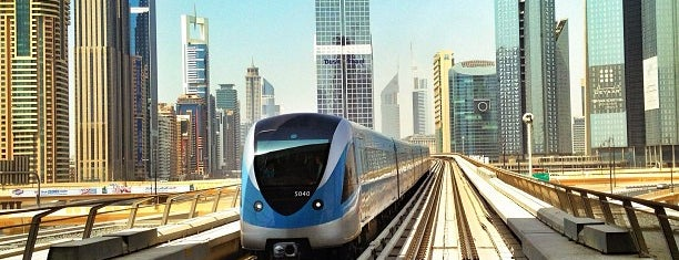 Burj Khalifa / Dubai Mall Metro Station is one of Dubai.