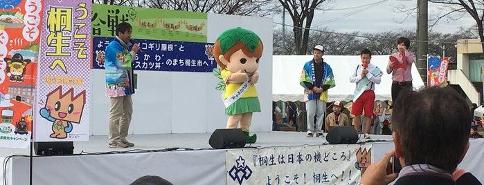 桐生市運動公園 is one of 高井 : понравившиеся места.