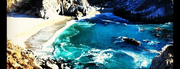 McWay Falls is one of Top photography spots.