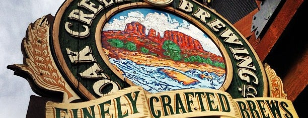 Oak Creek Brewing is one of Arizona.