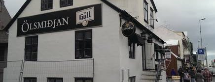 Ölsmiðjan is one of Every single bar in downtown Reykjavík.