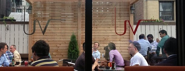 VU Bar NYC is one of The Best Places to Drink Outdoors in New York.