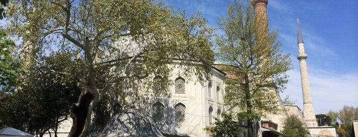 Ayasofya Müzesi Padişah Türbeleri is one of İstanbul'daki Mimar Sinan Eserleri.