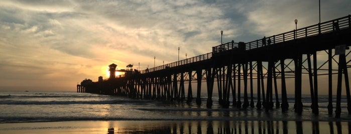 Oceanside Pier is one of USA 2015.