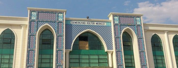 Semerkand Kültür Merkezi is one of Hasan : понравившиеся места.
