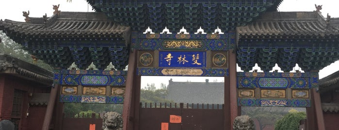 双林寺 Shuanglin Temple is one of PingYao.