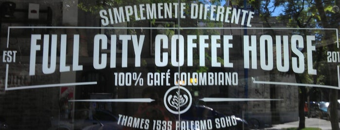 Full City Coffee House is one of Palermo Soho.