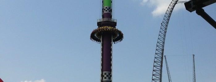 Drop Tower is one of Matthew : понравившиеся места.
