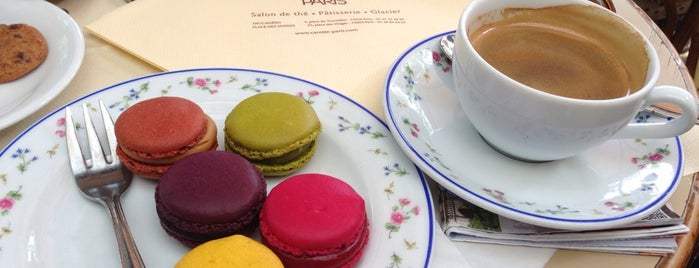 Carette is one of Foodie Places I Loved in Paris.