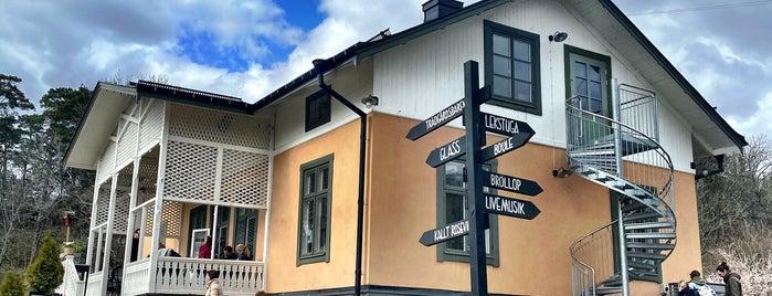 Kanaans Trädgårdscafé is one of White Guide Café 2019-20.