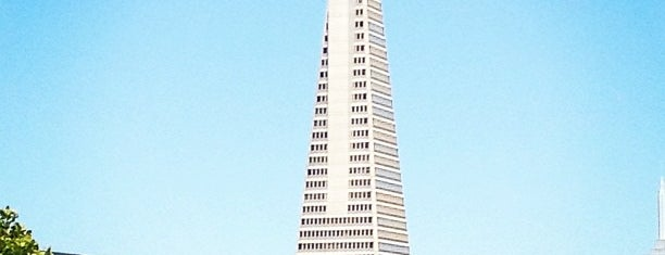 Transamerica Pyramid is one of Lieux qui ont plu à Alden.