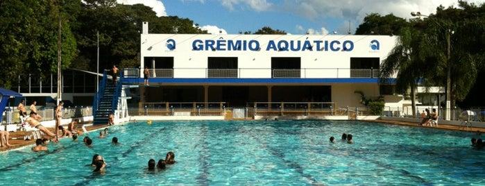 Grêmio Aquático is one of Lugares guardados de Luciano.