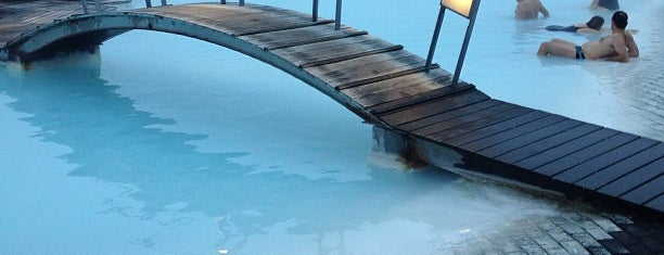 Bláa lónið (Blue Lagoon) is one of Hopefully, I'll visit these places one day....