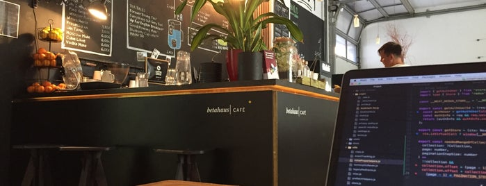 betahaus café is one of Remote Work in Berlin.
