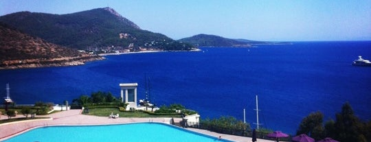 Kempinski Hotel Barbaros Bay is one of Turkey.