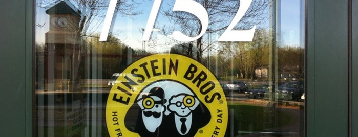 Einstein Bros Bagels is one of All The Places I Can Think of That I've been.
