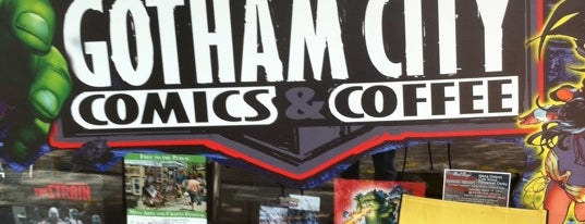 Gotham City Comics & Coffee is one of Posti salvati di Christopher.