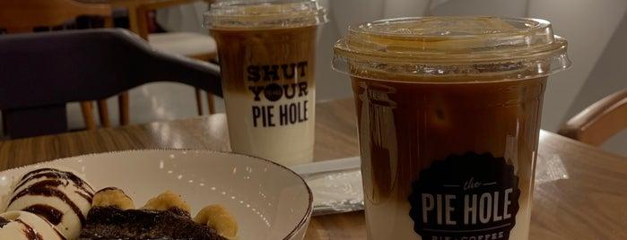 The Pie Hole is one of Coffee shops | Riyadh ☕️🖤.