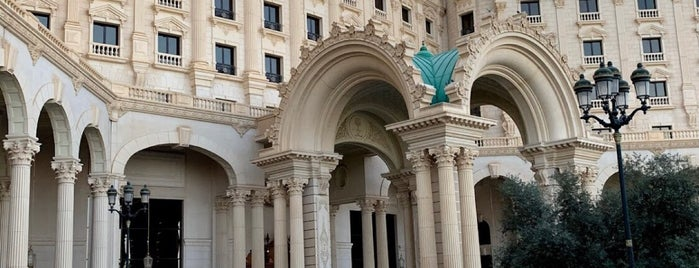 Turquoise Cigar Lounge - Ritz Carlton is one of Riyadh.