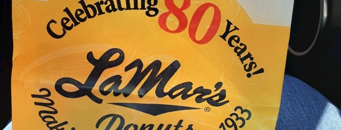LaMar's Donuts and Coffee is one of Restaurants I've Tried.