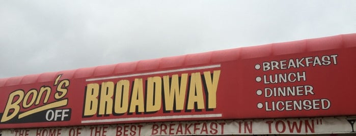 Bon's Off Broadway is one of Great Breakfast Joints in Vancouver.