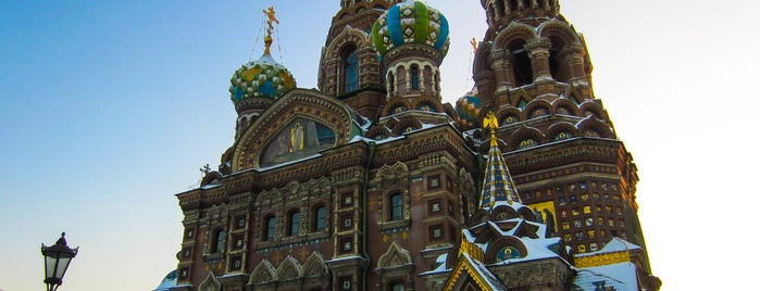 Church of the Savior on the Spilled Blood is one of St Petersburg.