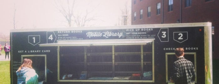 The Sketchbook Project Mobile Library is one of NYC.