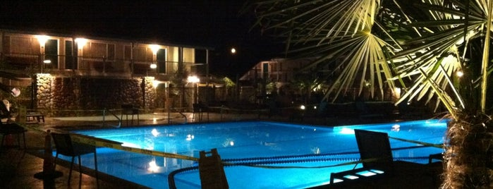 Calistoga Spa Hot Springs is one of California Wine Country.