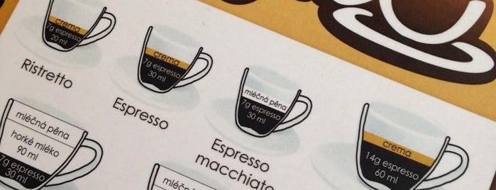 Kafec is one of Kde si pochutnáte na kávě doubleshot?.