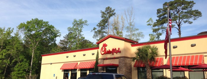 Chick-fil-A is one of Locais curtidos por Ilse.