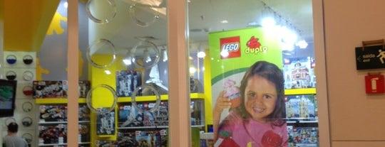 Lego Store is one of Shopping Cidade Jardim.