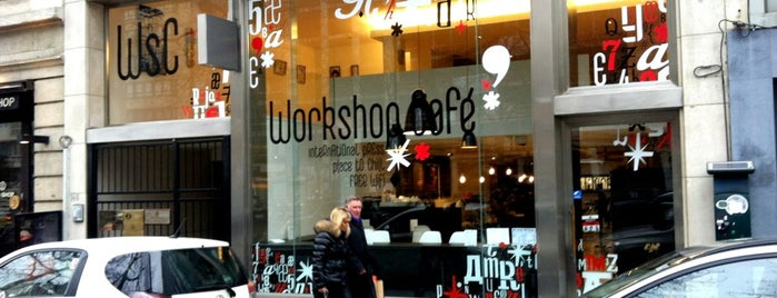 Workshop Café is one of Locais salvos de Stefan.