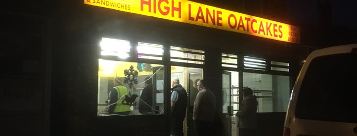 High Lane Oatcakes is one of Locais curtidos por Carl.