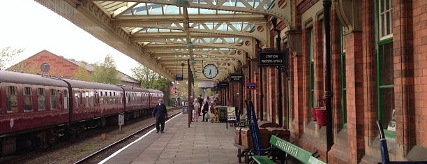 Loughborough Central Railway Station is one of Lugares favoritos de Del.