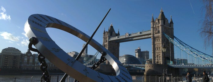 St Katherine Docks sundial is one of London.