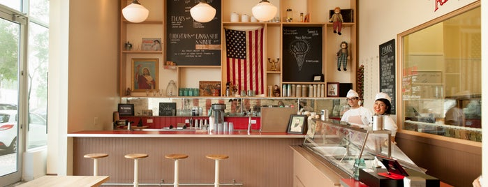 OddFellows Ice Cream Co. is one of Lugares favoritos de Tom.