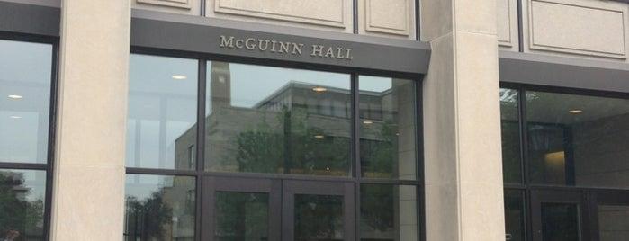 McGuinn Hall is one of Bryce'nin Beğendiği Mekanlar.