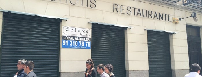 El schotis is one of Madrid Restaurantes y Otros.