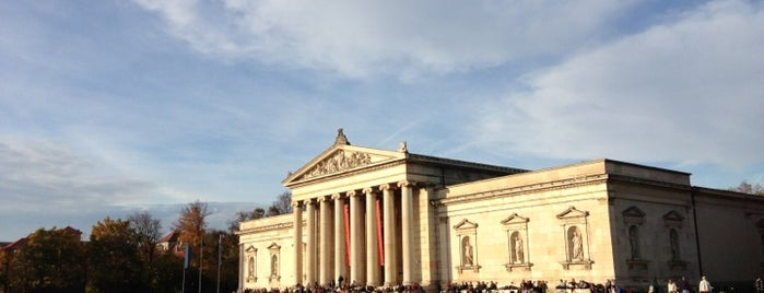 Königsplatz is one of MUN.